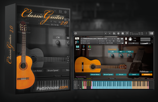 New Classicguitar 2 0 Pettinhouse Com Acoustic Nylon Guitar Sample Library For Kontakt Ni Community Forum