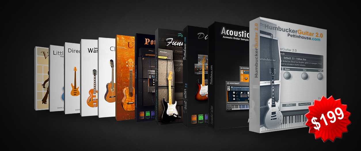 Best Guitar and Bass sample library for Kontakt