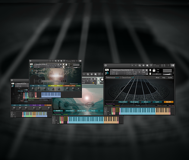 Guitar, Bass and Drum sample libraries for Native Instruments